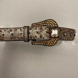 BKE Ladies Embellished Belt